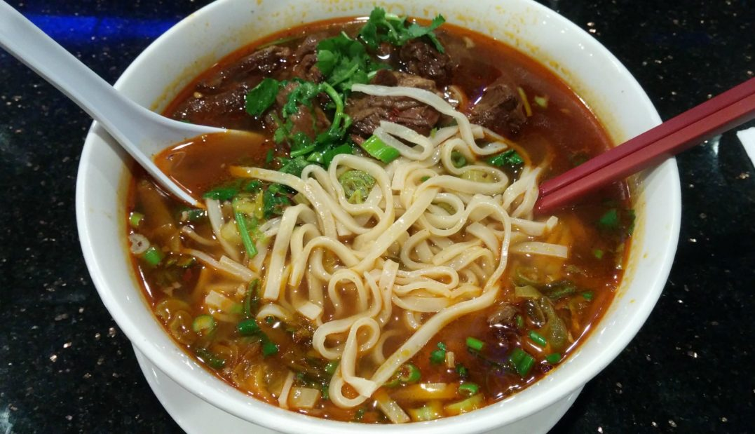 Taiwan beef noodle
