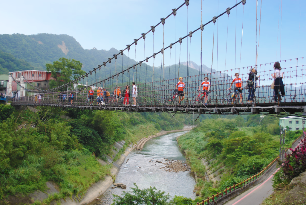 Shifen Bridge Slide